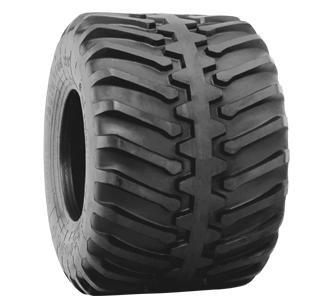 Flotation 23 (Center Rib) HF-2 Tires